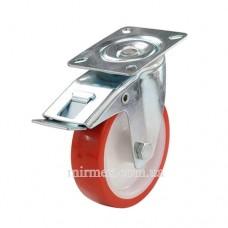 Колесо модель 330080 полиуретан/полиамид для тележки