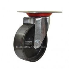 Колесо чугунное 4054 диаметр 100 мм для тележки