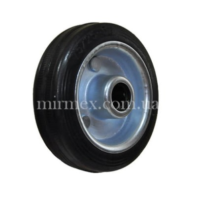 Колесо 500075 диаметр 75 мм для тележки и тачки