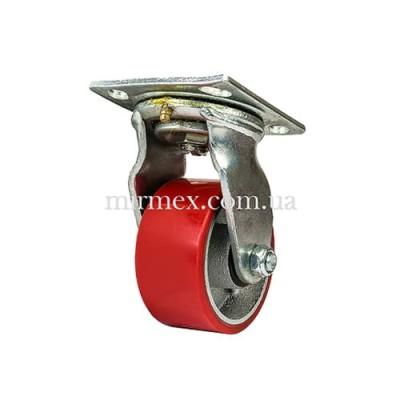 Большегрузное колесо 580100 (4x2) полиуретан/чугун поворотное