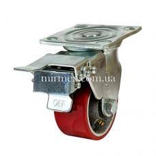 Колесо модель 590100 (4x2) полиуретан/чугун