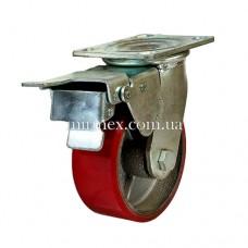 Колесо модель 590125 (5x2) полиуретан/чугун