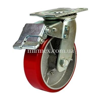Колесо модель 590150 (6x2) полиуретан/чугун
