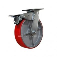 Колесо модель 590200 (8x2) полиуретан/чугун