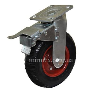 Колесо большегрузное 630200 (8x4) поворотное с тормозом