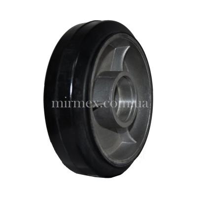 Резиновое рулевое колесо R 160х50 (К4)