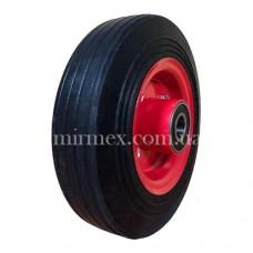 Литое колесо 2.50-4 (8х4) диаметр 200 мм для тачки