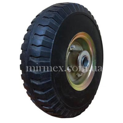 Литое колесо 3.50-4 диаметр 255 для тачки