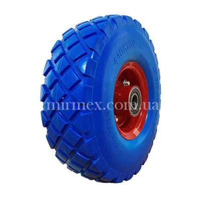 Колесо 3.50-4/204 пенополиуретановое синее
