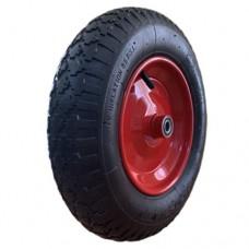Пневматическое колесо 3.50-8-16-RS для тачки, тележки