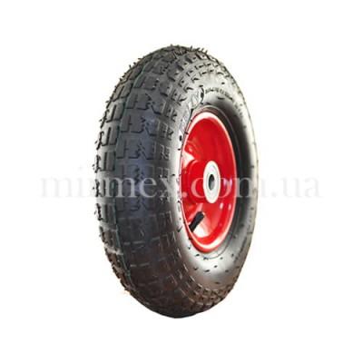 Пневматическое колесо 4.00-6/20 (2/4PR) для тачки, тележки