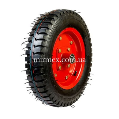 Пневматическое колесо 4.00-10-204 для тачки, тележки