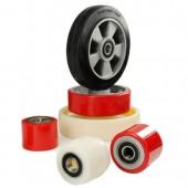 Колеса и ролики для гидравлических тележек и штабелеров
