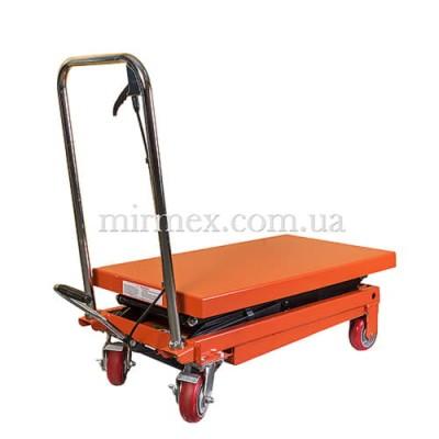 Подъемный гидравлический стол модель WP 350 (Niuli)
