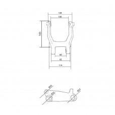 Малый угловой рычаг 5.0Т (215)